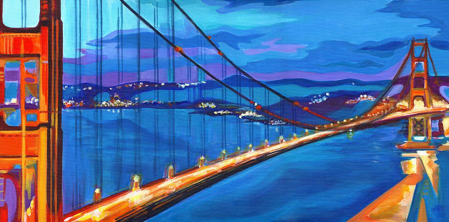 San Francisco Bay Blues  by Tanya Filichkin
