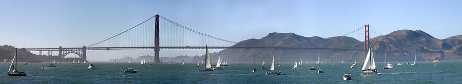 Fleet Week Photograph - San Francisco Bay by Gary Lobdell