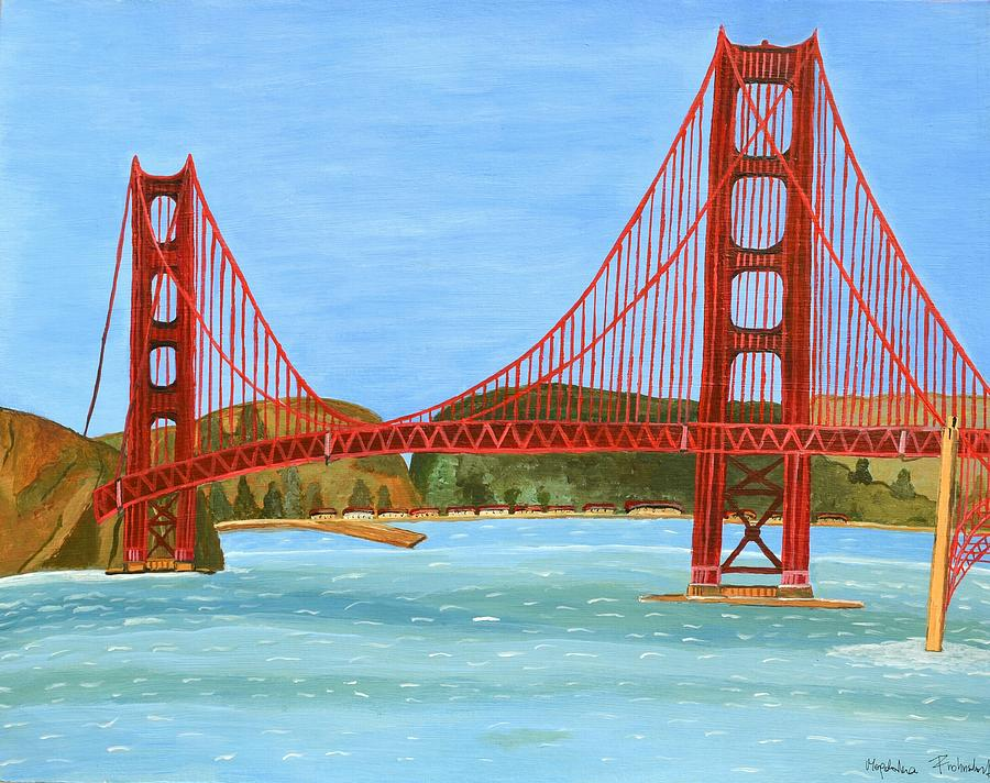 San Francisco Bridge  by Magdalena Frohnsdorff