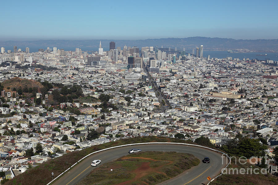 San Francisco California From Twin Peaks 5D28034 by San Francisco Art and Photography