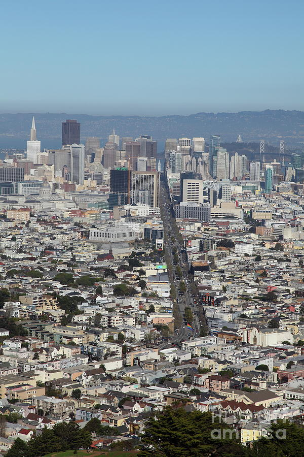 San Francisco California From Twin Peaks 5D28037 by San Francisco Art and Photography