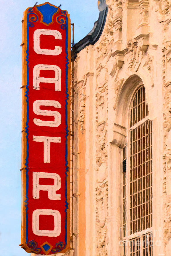 San Francisco Photograph - San Francisco Castro Theater by Wingsdomain Art and Photography