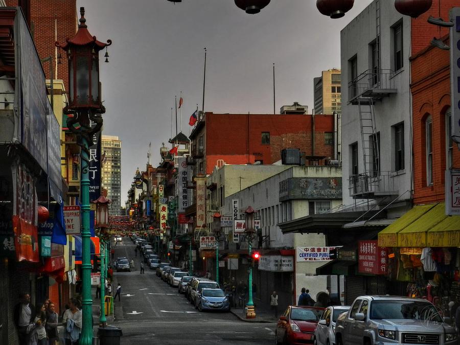 San Francisco California Photograph - San Francisco - Chinatown 001 by Lance Vaughn