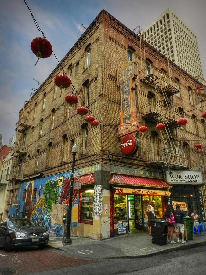 San Francisco California Photograph - San Francisco - Chinatown 006 by Lance Vaughn