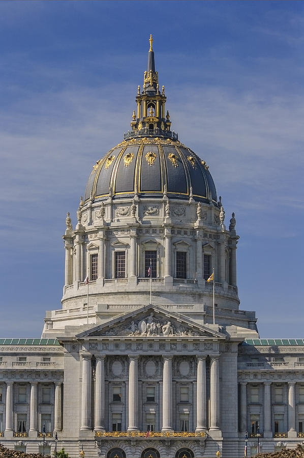 United Photograph - San Francisco City Hall by David Taylor