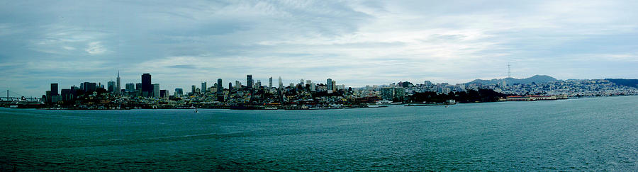 San Francisco Cityscape Photograph by Ashlee Terras