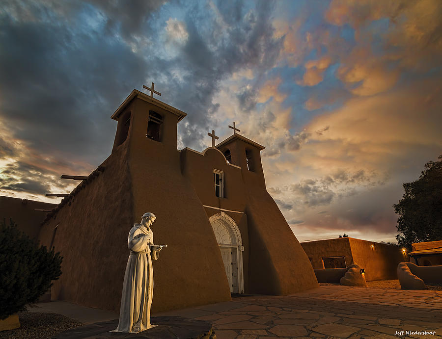 San Francisco de Assisi Mission by Jeff Niederstadt