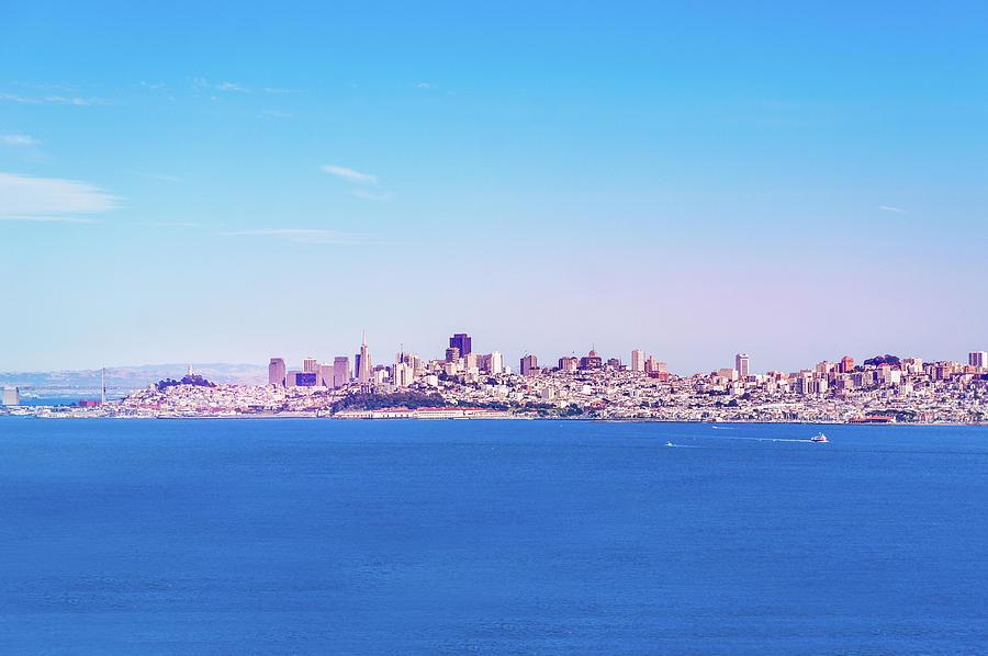 San Francisco Photograph - San Francisco Downtown Skyline by Art Spectrum
