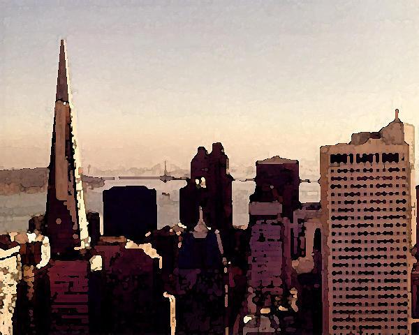 Landscape Photograph - San Francisco by John Bradburn