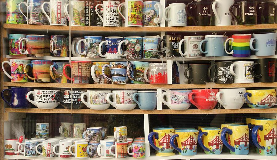 San Francisco Mugs by Erik Burg