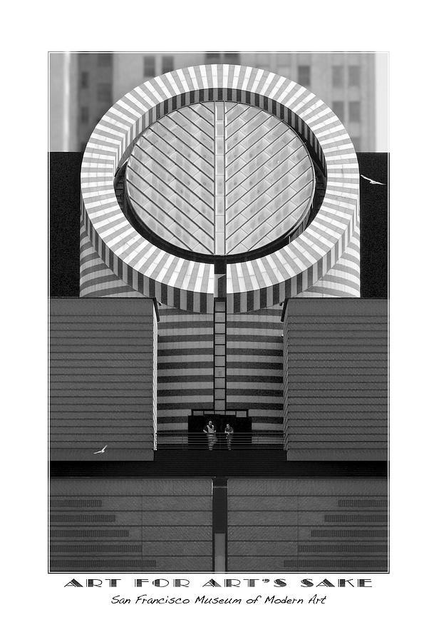 San Francisco Photograph - San Francisco Museum Of Modern Art by Mike McGlothlen