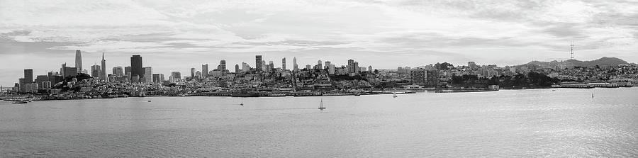 San Francisco Skyline by Betty Depee