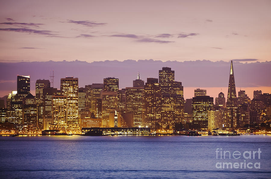 Bay Photograph - San Francisco Skyline by Bryan Mullennix