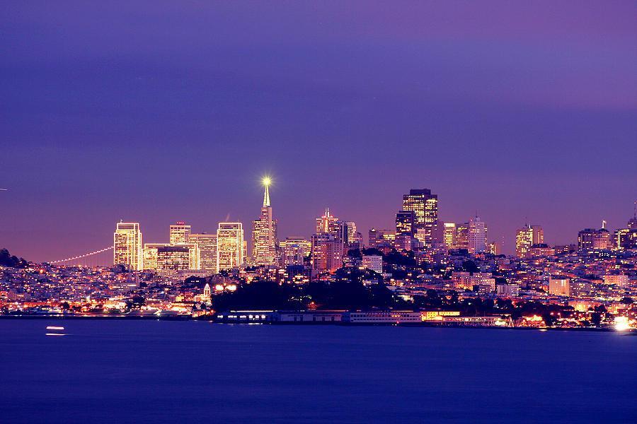 San Francisco Pyrography - San Francisco Skyline by Kevin Ho