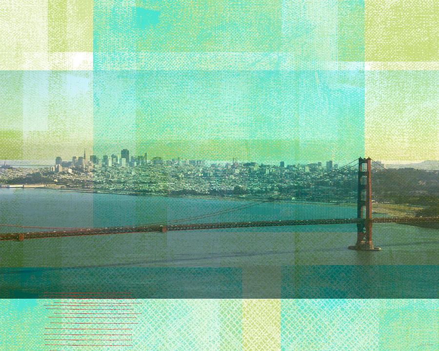 San Francisco Spring- Abstract Ar Painting