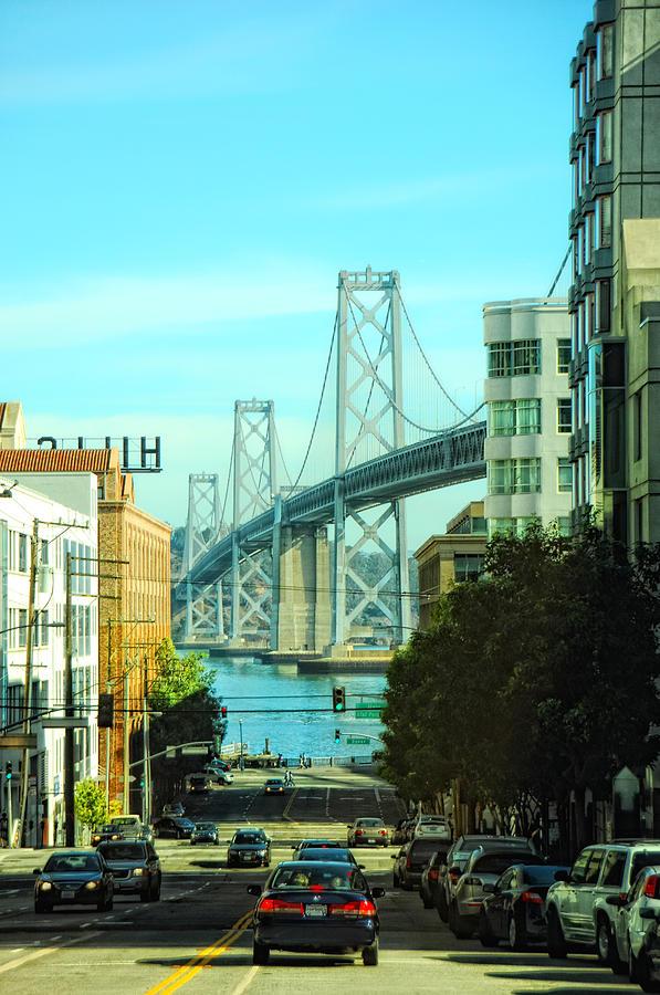 San Francisco Photograph - San Francisco Street by Donna Blackhall