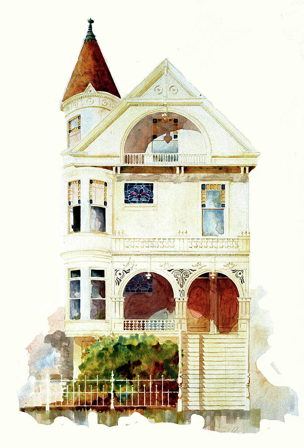 San Francisco Victorian by William Renzulli