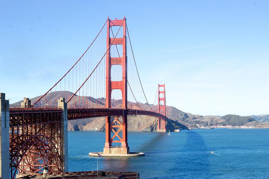 San Francisco Photograph - San Franciscos Golden Gate Bridge by G Matthew Laughton
