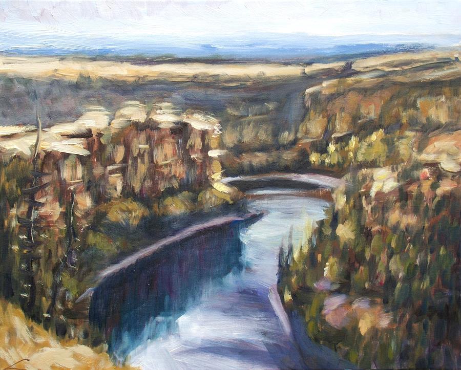 San Frutos Canyon Painting