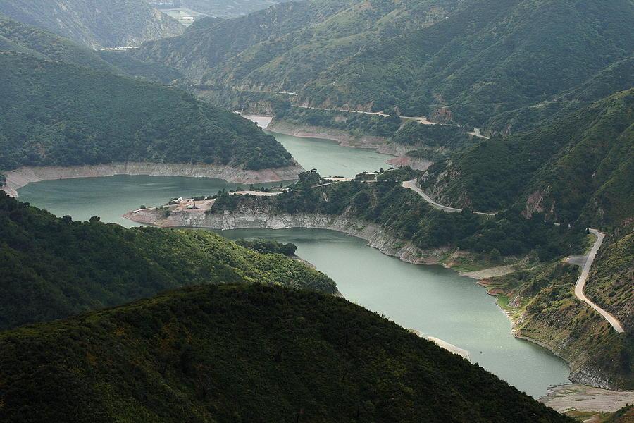 San Gabriel Dam Photograph - San Gabriel Dam by Viktor Savchenko