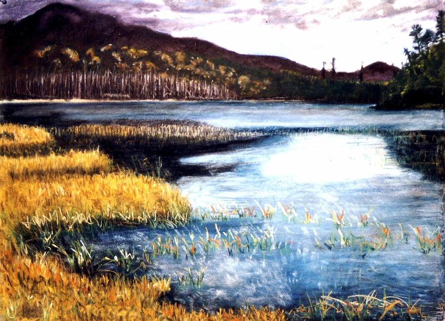 Landscape Painting - San Gabriel II by Jack Spath