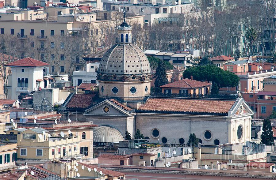 Church Photograph - San Gioacchino In Prati by Andy Smy