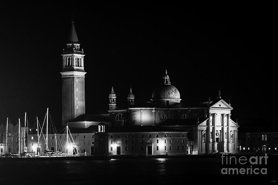San Giorgio Maggiore at Night   by Prints of Italy