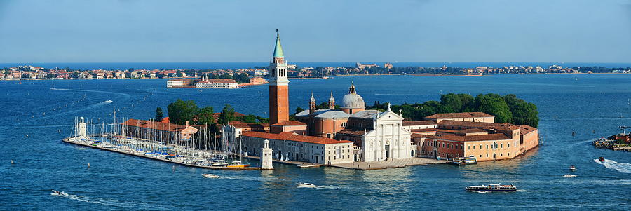 San Giorgio Maggiore island panorama by Songquan Deng
