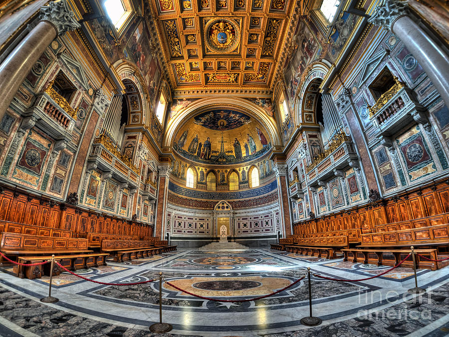San Giovanni Photograph - San Giovanni in Laterano, Rome, Italy by Mark Carnaby
