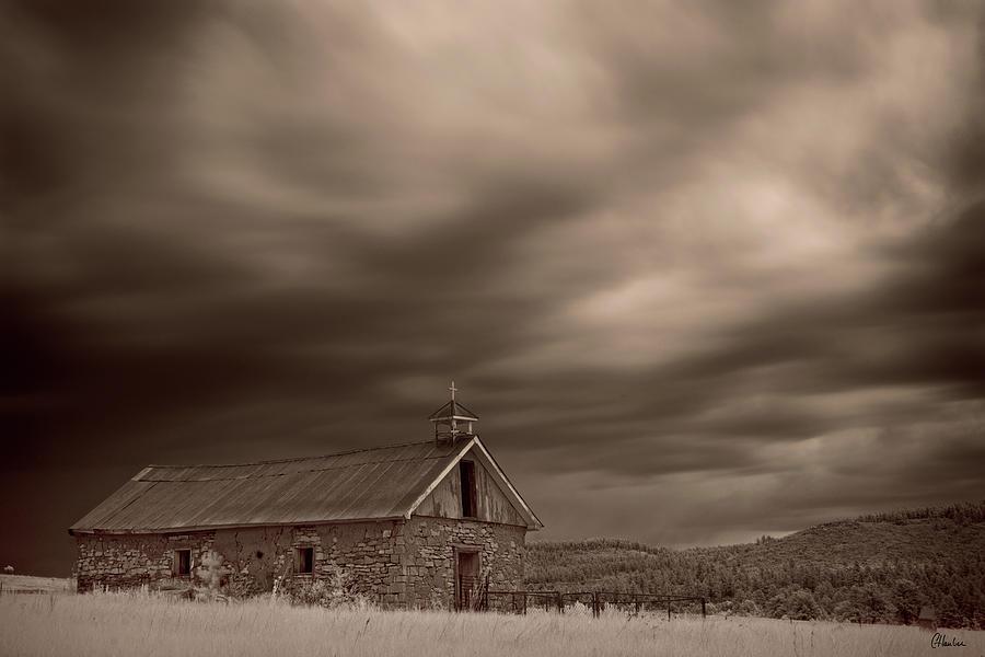 Church Photograph - San Isidro by Christine Hauber