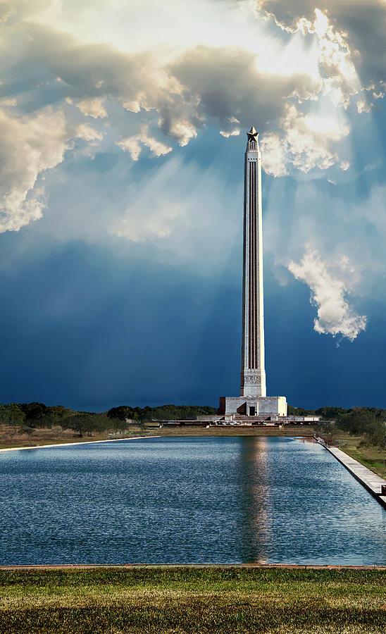 San Jacinto Photograph - San Jacinto monument by Roy Nierdieck