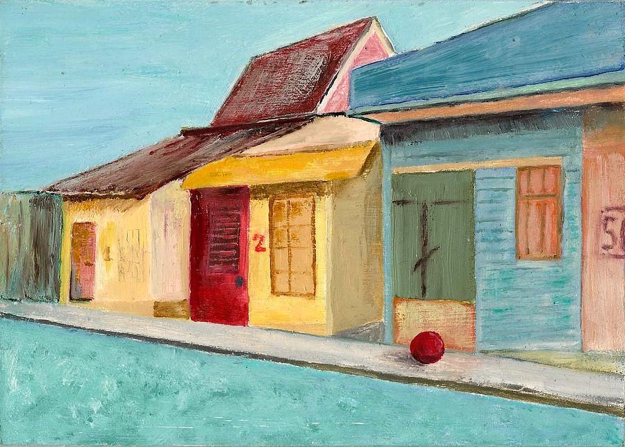 Costa Rica Painting - San Jose  by Susan Macdonald