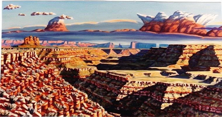 Oil Painting - San Juan Banks #3 by Allen Kerns