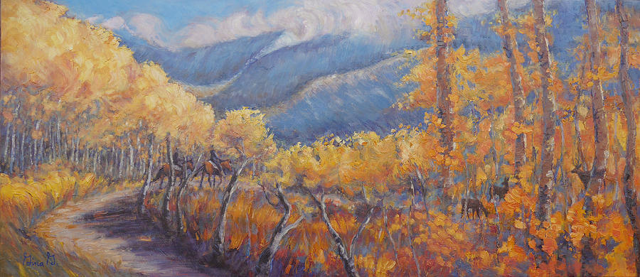 San Juan Mountain Gold by Gina Grundemann