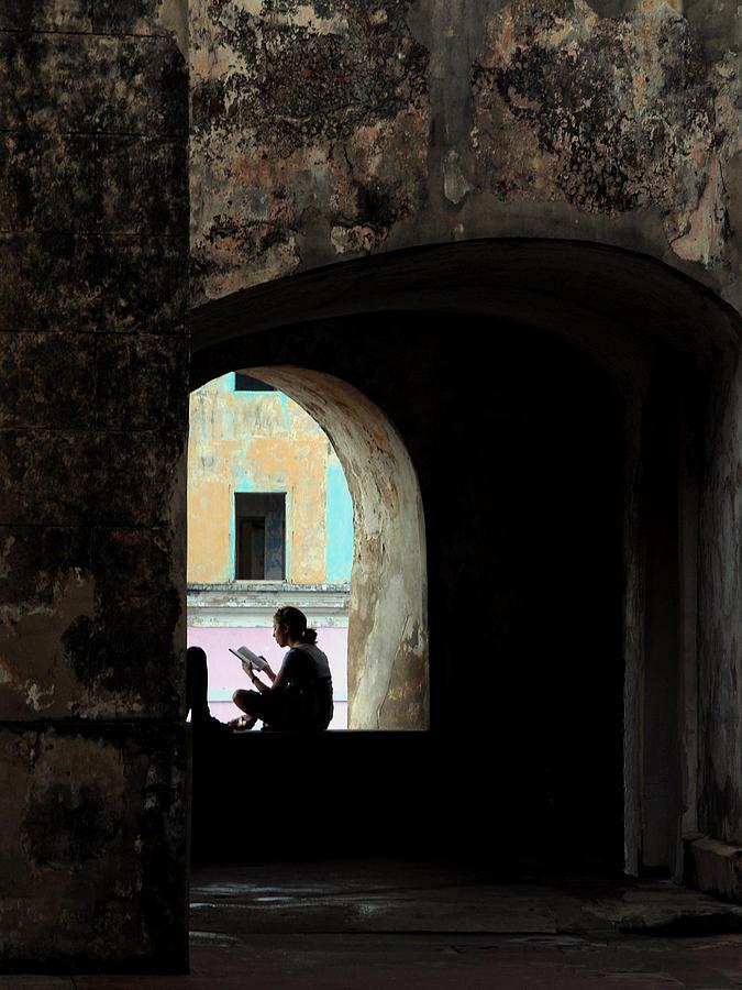 THE READER, SAN JUAN, PUERTO RICO, 2007.  by John Jacquemain
