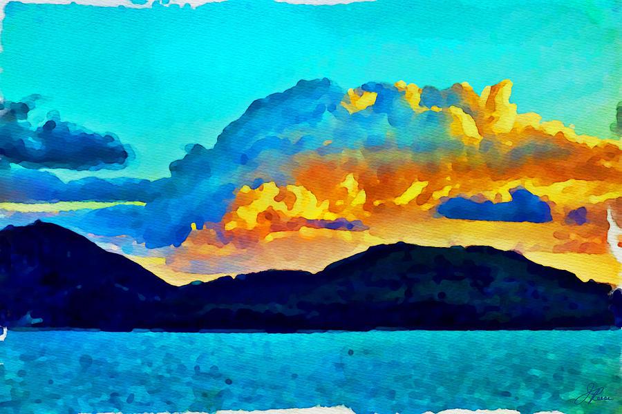 San Juan Seascape Painting