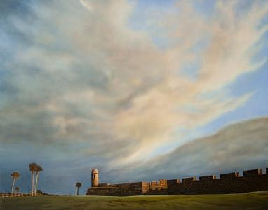 San Marco Sunset Painting by Sydney McKenna