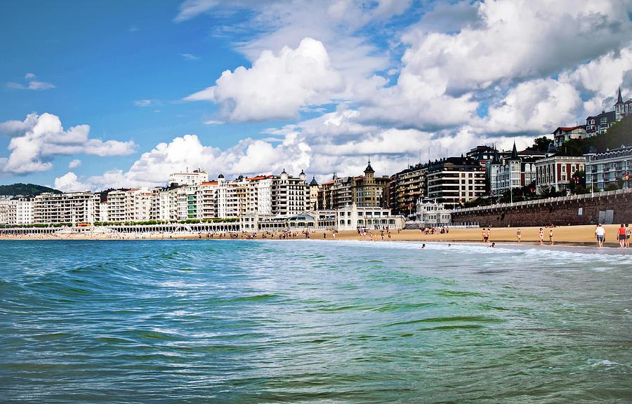 San Sebastian Photograph - San Sebastian by Tetyana Kokhanets