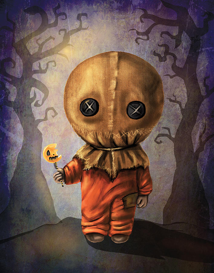 Sam Trick R' Treat Digital Art by Diana Levin