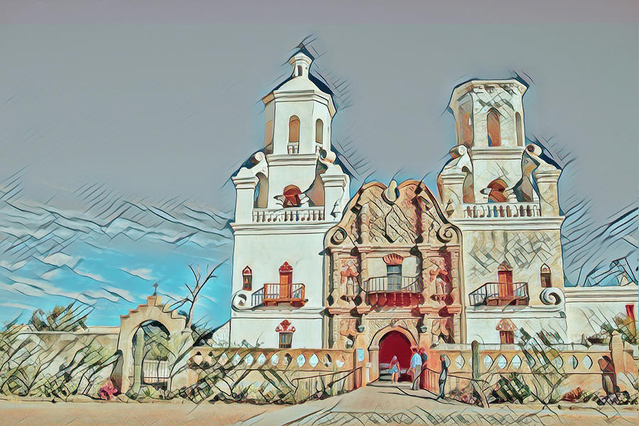 San Xavier del Bac remix one by Dan McManus