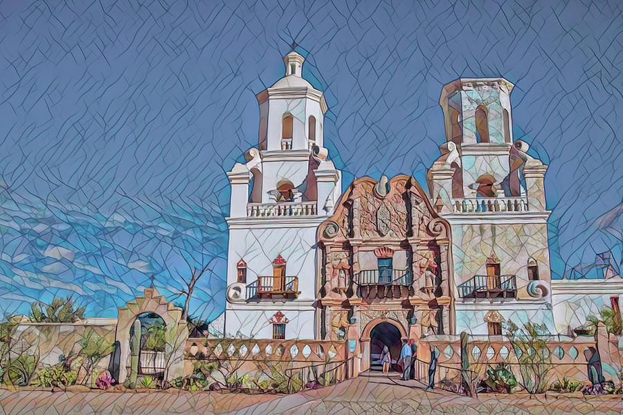 San Xavier del Bac remix two by Dan McManus