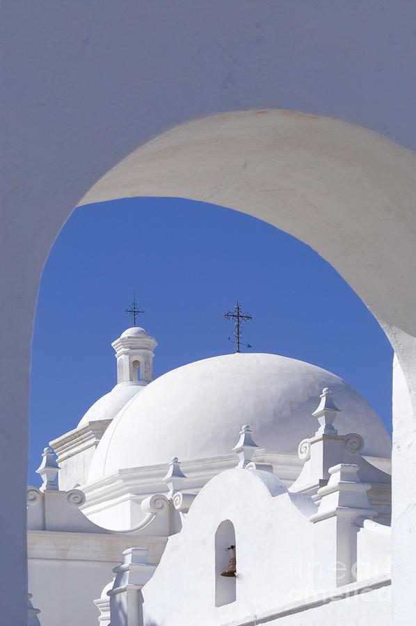 Southwest Photograph - San Xavier Del Bac by Sandra Bronstein