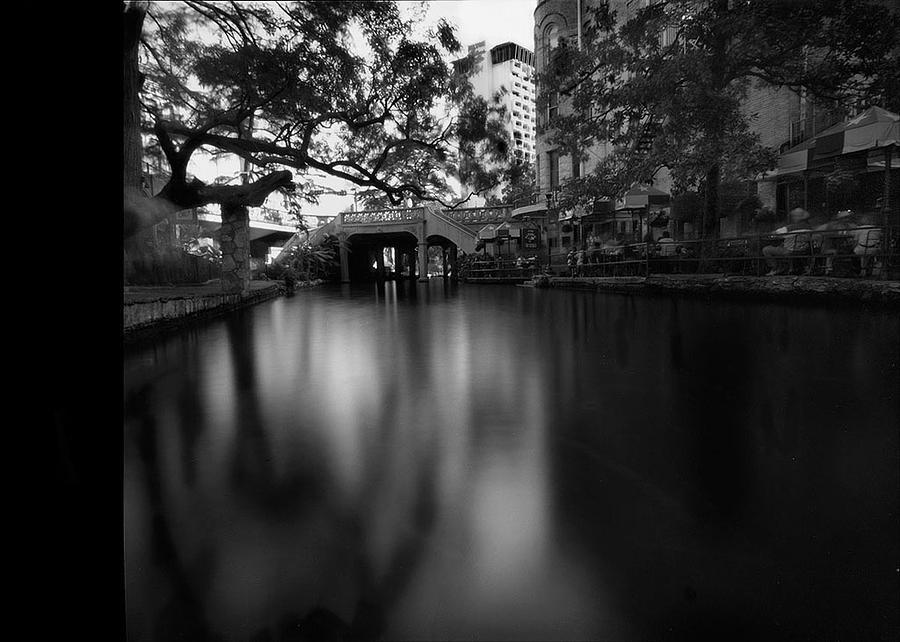 Pinhole Photograph - Sanantonio Long River by Luca Baldassari