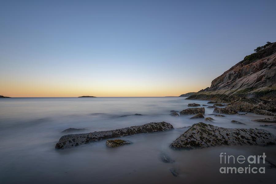 Sand Beach Photograph - Sand Beach At Dusk  by Michael Ver Sprill