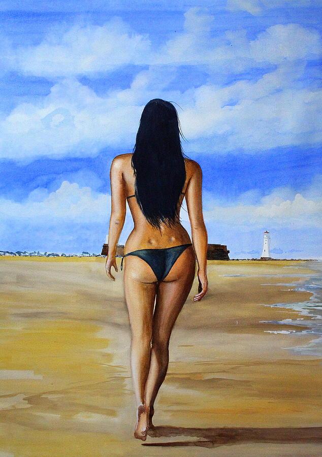 Sand between the toes by Steve Jones