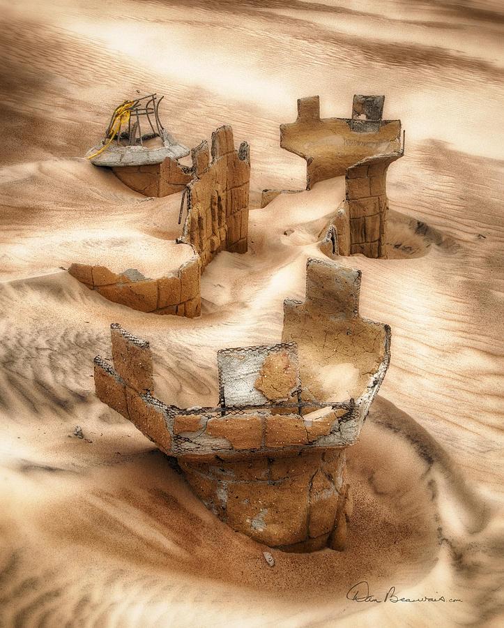 Sand Castle 4065 Photograph