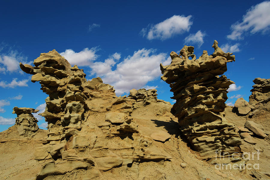 Siltstone Photograph - Sand Demons by Mike Dawson