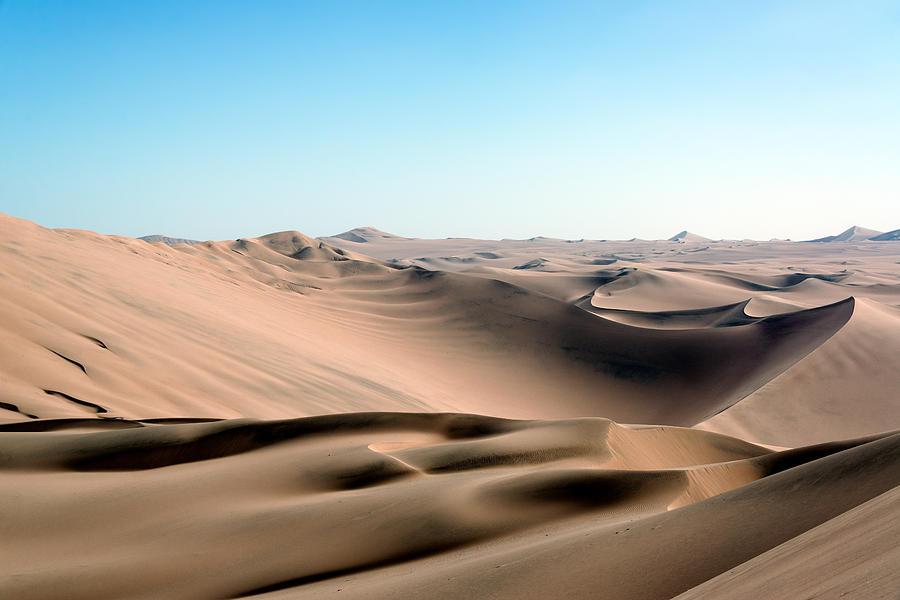 Sand Dune Desert Landscape Photograph by Jess Kraft
