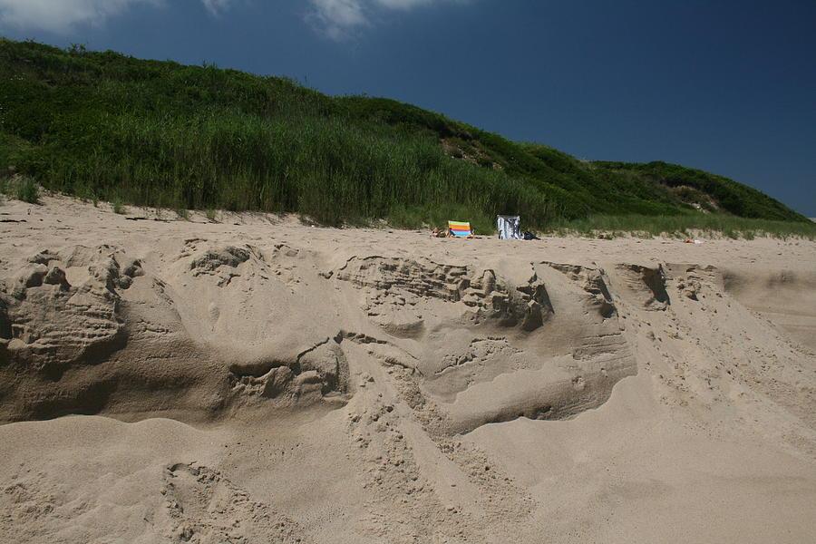 Beach Photograph - Sand Dunes II by Jeff Porter