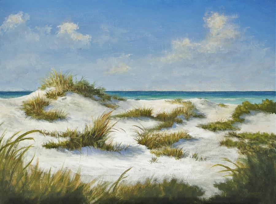 Sand Dunes Morning by Alan Zawacki by Alan Zawacki